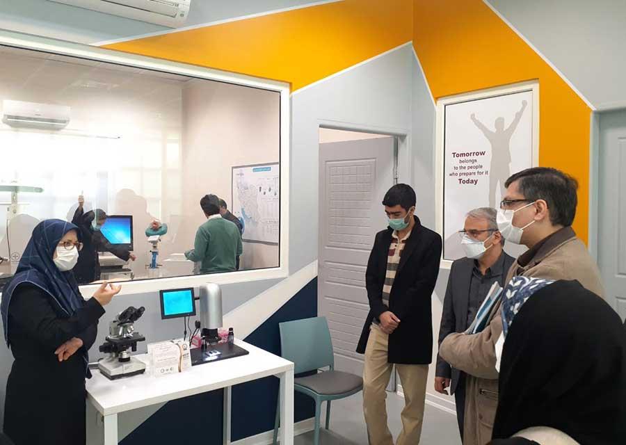 نصب دستگاه کاپی ویژن و میکروسکوپ پلاریزان در IACT